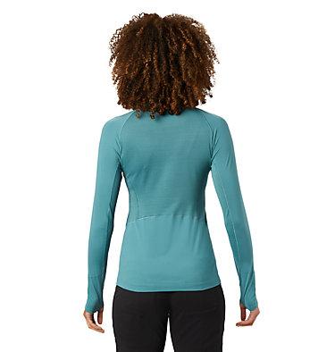 Women's Ghee™ Long Sleeve 1/4 Zip Ghee™ Long Sleeve 1/4 Zip | 011 | L, Washed Turq, back
