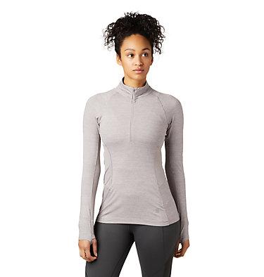 Women's Ghee™ Long Sleeve 1/4 Zip Ghee™ Long Sleeve 1/4 Zip | 011 | L, Mystic Purple, front
