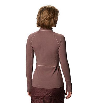Women's Ghee™ Long Sleeve 1/4 Zip Ghee™ Long Sleeve 1/4 Zip | 642 | L, Smoky Quartz, back