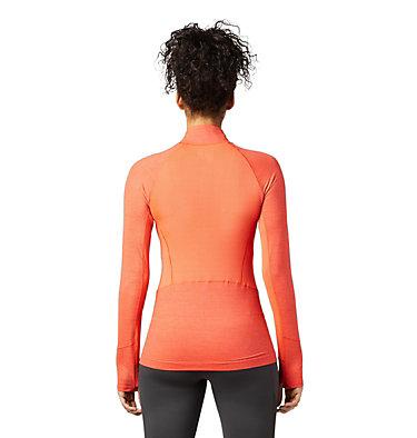 Women's Ghee™ Long Sleeve 1/4 Zip Ghee™ Long Sleeve 1/4 Zip | 011 | L, Sweet Chili, back