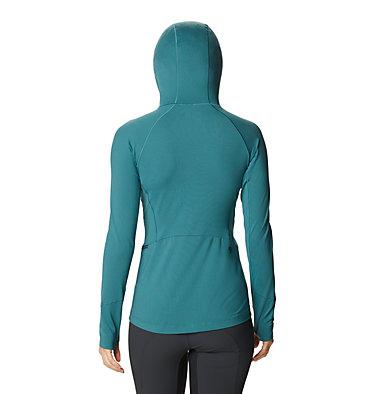 Women's Ghee™ Long Sleeve Hoody Ghee™ Long Sleeve Hoody | 515 | L, Washed Turq, back