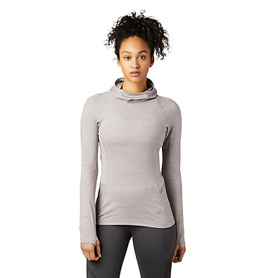 Women's Ghee™ Long Sleeve Hoody Ghee™ Long Sleeve Hoody | 642 | L, Mystic Purple, front