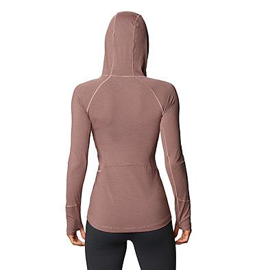 Women's Ghee™ Long Sleeve Hoody Ghee™ Long Sleeve Hoody | 515 | L, Smoky Quartz, back
