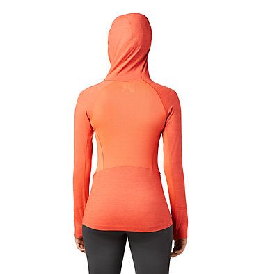 Women's Ghee™ Long Sleeve Hoody Ghee™ Long Sleeve Hoody | 642 | L, Sweet Chili, back