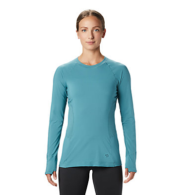 Women's Ghee™ Long Sleeve Crew Ghee™ Long Sleeve Crew | 468 | L, Washed Turq, front