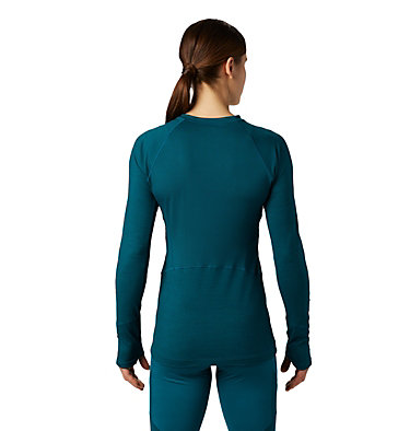 Chandail ras-du-cou à manches longues Ghee™ Femme Ghee™ Long Sleeve Crew | 468 | L, Dive, back