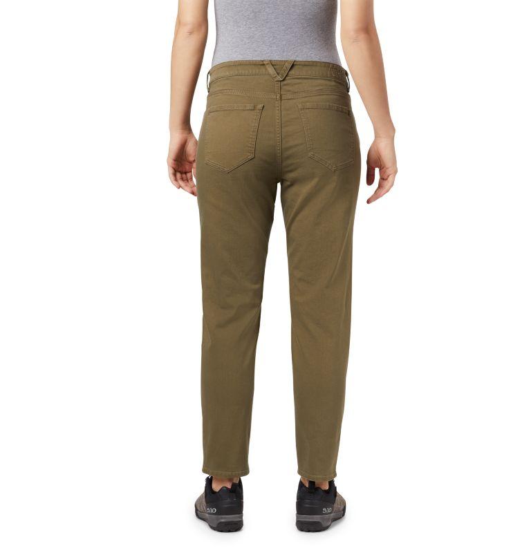 Hardwear Twill™ Ankle Jean | 333 | 10 Women's Hardwear Twill™ Ankle Jean, Light Army, back