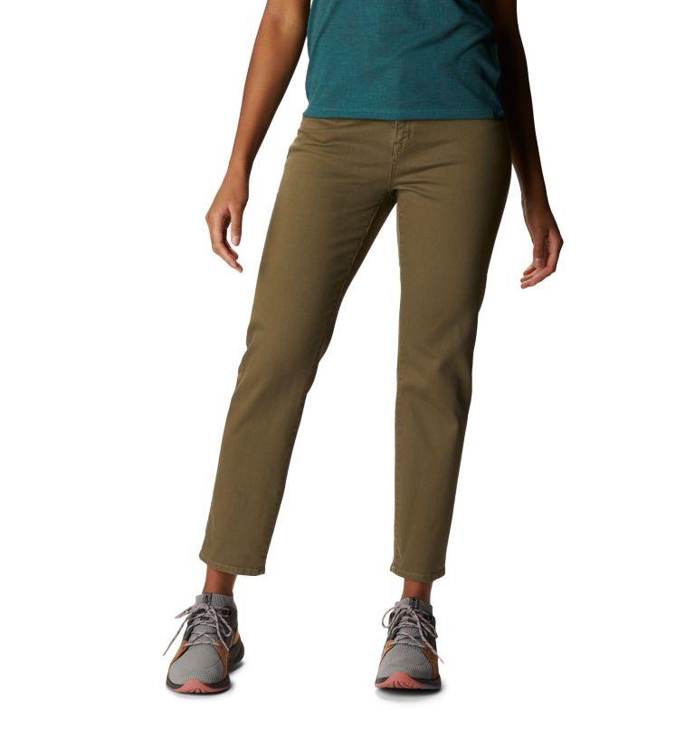 Hardwear Twill™ Ankle Jean | 333 | 10 Women's Hardwear Twill™ Ankle Jean, Light Army, front