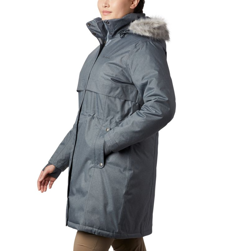 Women's Apres Arson™ II Long Down Jacket - Plus Size Women's Apres Arson™ II Long Down Jacket - Plus Size, a1