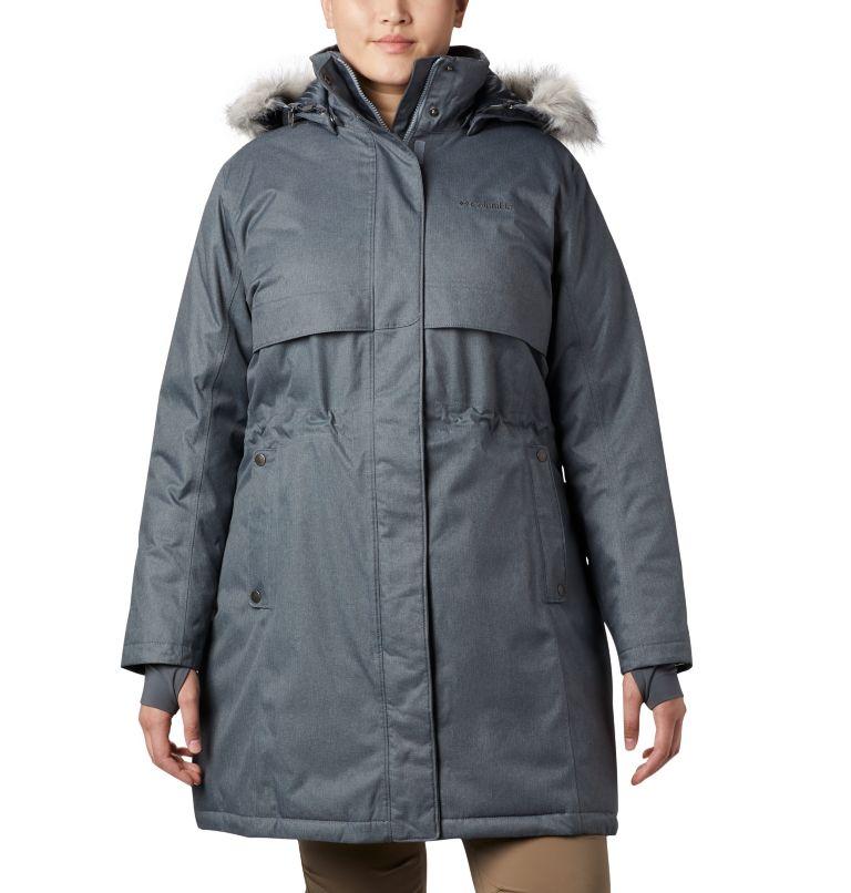 Women's Apres Arson™ II Long Down Jacket - Plus Size Women's Apres Arson™ II Long Down Jacket - Plus Size, front