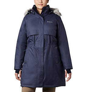 Women's Apres Arson™ II Long Down Jacket - Plus Size