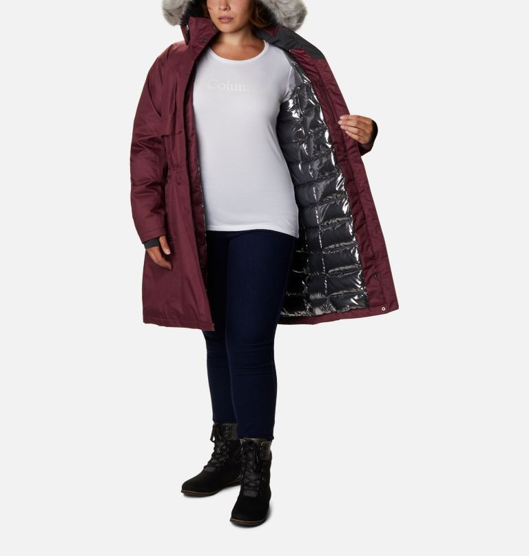 Women's Apres Arson™ II Long Down Jacket - Plus Size Women's Apres Arson™ II Long Down Jacket - Plus Size, a3