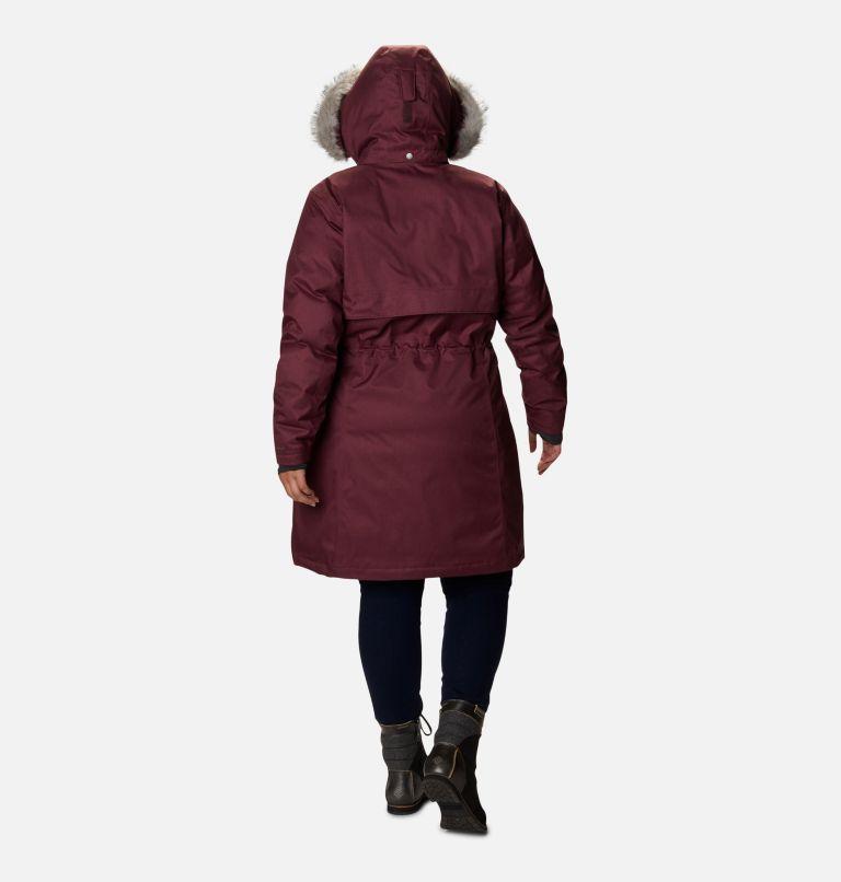 Women's Apres Arson™ II Long Down Jacket - Plus Size Women's Apres Arson™ II Long Down Jacket - Plus Size, back