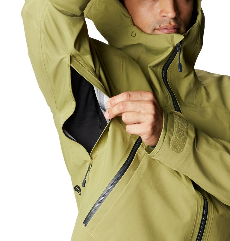 Boundary Ridge™ Gore-Tex 3L Jacket | 303 | M Men's Boundary Ridge™ Gore-Tex® 3L Jacket, Fatigue Green, a10