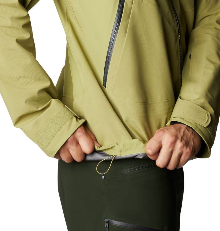 Boundary Ridge™ Gore-Tex 3L Jacket | 303 | M Men's Boundary Ridge™ Gore-Tex® 3L Jacket, Fatigue Green, a5