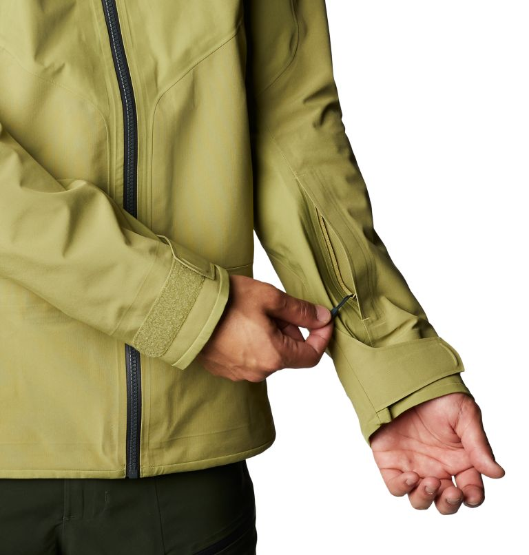Boundary Ridge™ Gore-Tex 3L Jacket | 303 | M Men's Boundary Ridge™ Gore-Tex® 3L Jacket, Fatigue Green, a8