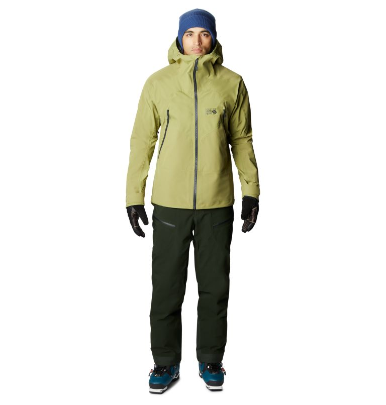 Boundary Ridge™ Gore-Tex 3L Jacket | 303 | M Men's Boundary Ridge™ Gore-Tex® 3L Jacket, Fatigue Green, a9