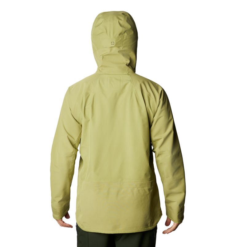 Boundary Ridge™ Gore-Tex 3L Jacket | 303 | M Men's Boundary Ridge™ Gore-Tex® 3L Jacket, Fatigue Green, back