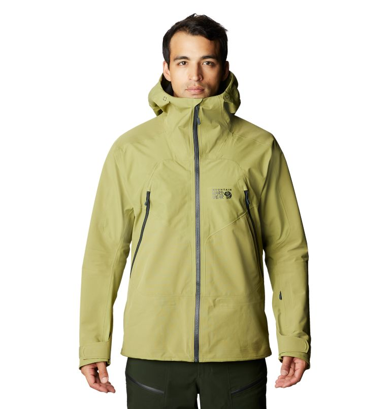 Boundary Ridge™ Gore-Tex 3L Jacket | 303 | M Men's Boundary Ridge™ Gore-Tex® 3L Jacket, Fatigue Green, front