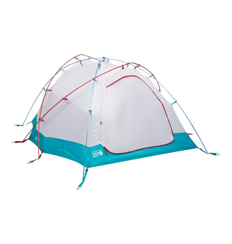Trango™ 3 Tent | 675 | NONE Tente Trango™ 3, Alpine Red, back