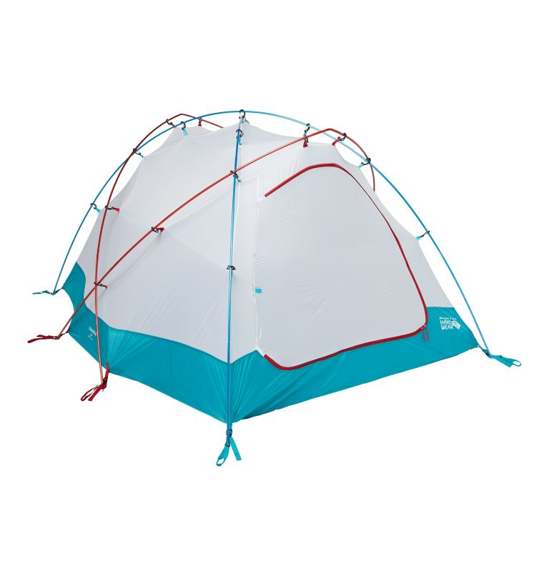 Trango™ 3 Tent | 676 | NONE Tente Trango™ 3, Alpine Red, back
