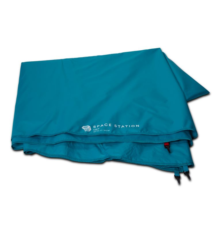 Space Station™ Footprint | 301 | NONE Space Station™ Footprint, Glacier Teal, front