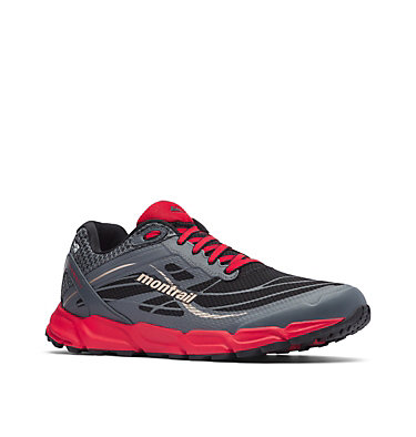 Men's Caldorado™ III Outdry™ Trail Running Shoe CALDORADO™ III OUTDRY™ | 010 | 7, Black, Bright Red, 3/4 front