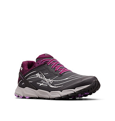 Women's Caldorado™ III OutDry™ Trail Running Shoe CALDORADO™ III OUTDRY™ | 053 | 5, Graphite, Crown Jewel, 3/4 front