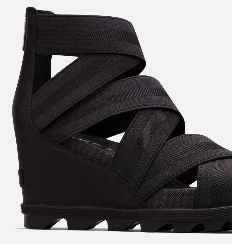 JOANIE™ II STRAP | 010 | 9.5 Womens Joanie™ II Strap Wedge Sandal, Black, a1