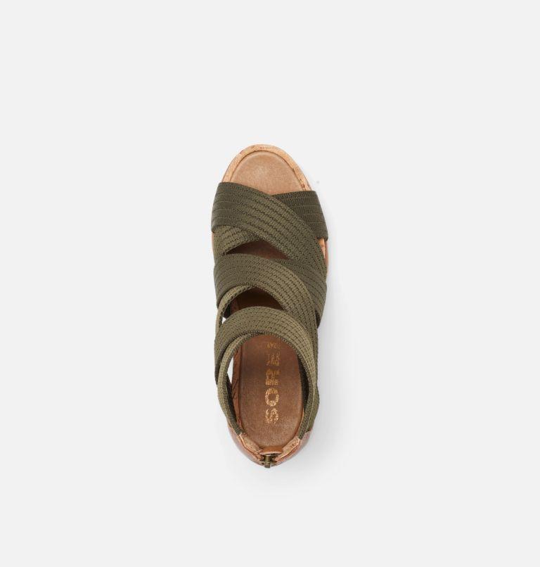JOANIE™ II STRAP | 242 | 5 Womens Joanie™ II Strap Wedge Sandal, Velvet Tan, top