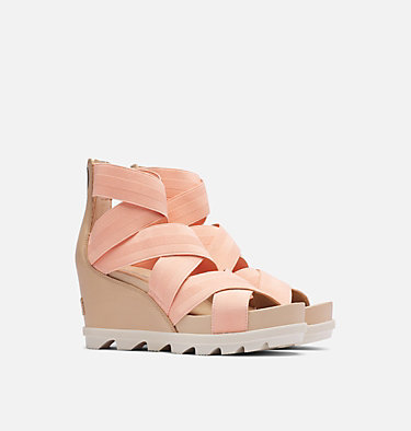 Sandale à lacets à semelle compensé Joanie™ II pour femme JOANIE™ II STRAP | 010 | 6, Natural Tan, 3/4 front