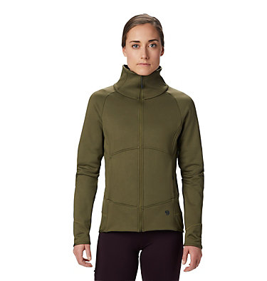 Women's Frostzone™ Full Zip Jacket Frostzone™ Full Zip Jacket | 324 | L, Combat Green, front