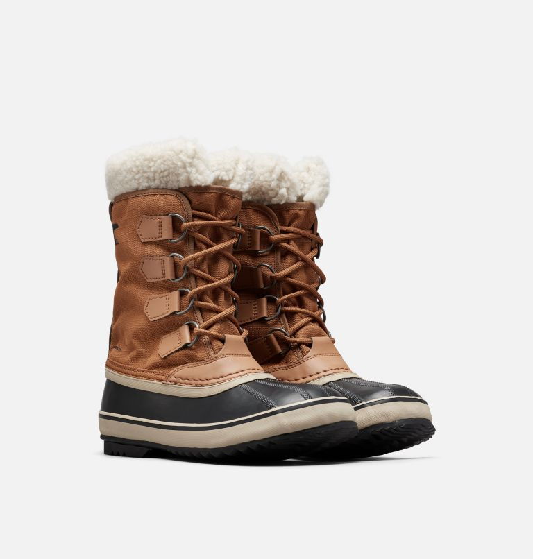 WINTER CARNIVAL™ | 224 | 6.5 Women's Winter Carnival™ Boot, Camel Brown, 3/4 front