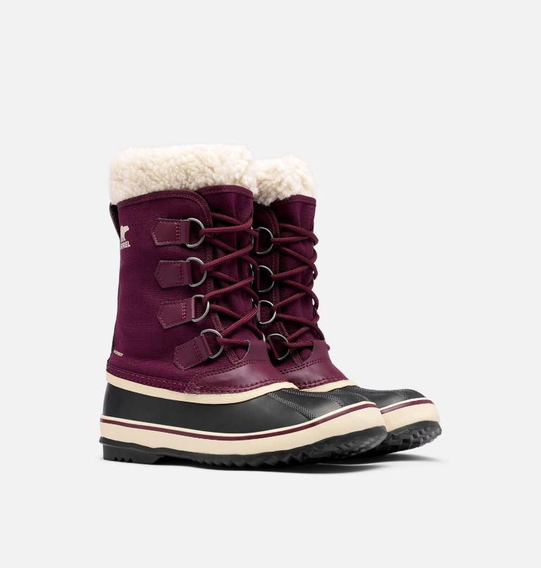 WINTER CARNIVAL™ | 543 | 6.5 Women's Winter Carnival™ Boot, Epic Plum, 3/4 front