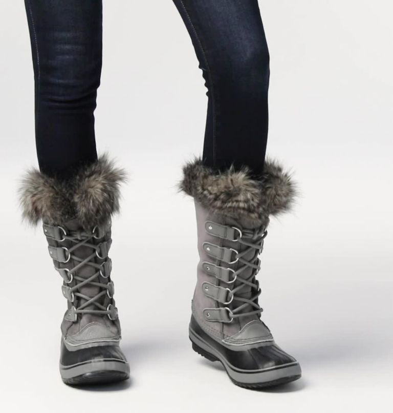 JOAN OF ARCTIC™ | 052 | 6.5 Women's Joan of Arctic™ Boot, Quarry, Black, video