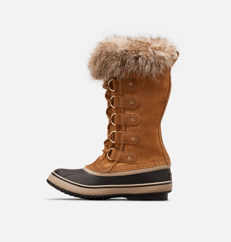 JOAN OF ARCTIC™ | 224 | 8.5 Women's Joan Of Arctic™ Boot, Camel Brown, Black, medial