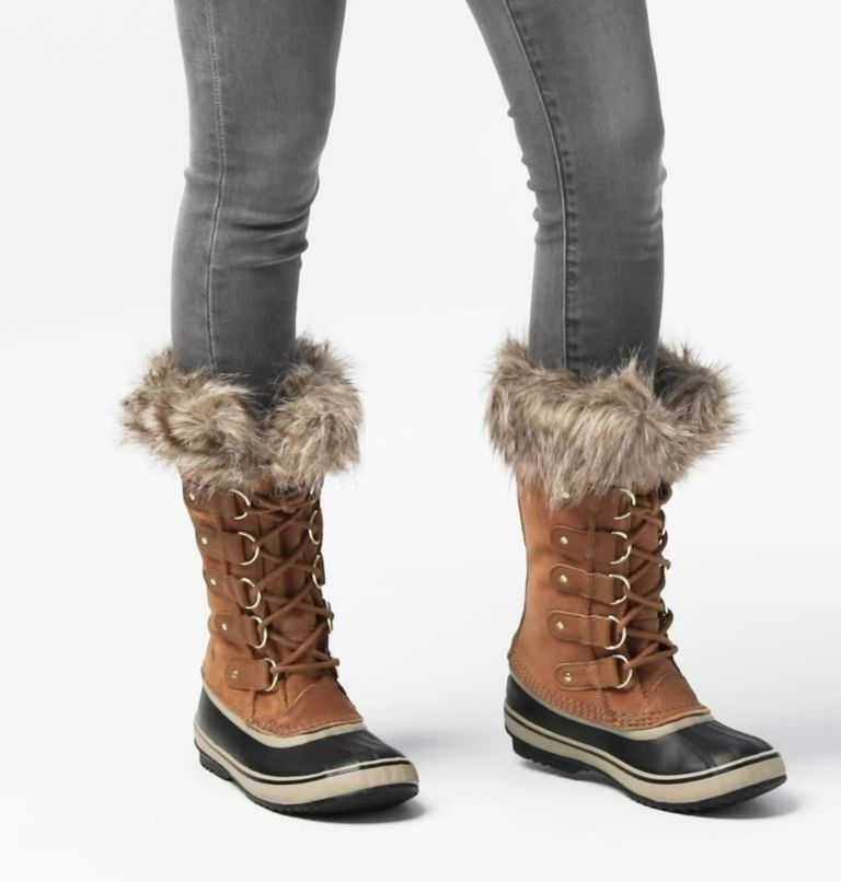 JOAN OF ARCTIC™ | 224 | 8.5 Women's Joan Of Arctic™ Boot, Camel Brown, Black, video