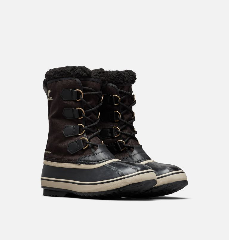 1964 PAC™ NYLON | 011 | 7 Men's 1964 Pac™ Nylon Boot, Black, Ancient Fossil, 3/4 front