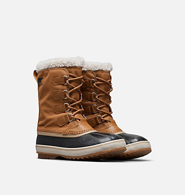 Men's 1964 Pac™ Nylon Boot 1964 PAC™ NYLON | 011 | 10, Camel Brown, Black, 3/4 front