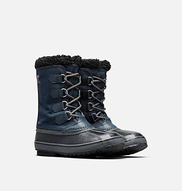 Men's 1964 Pac™ Nylon Boot 1964 PAC™ NYLON | 011 | 10, Collegiate Navy, Black, 3/4 front