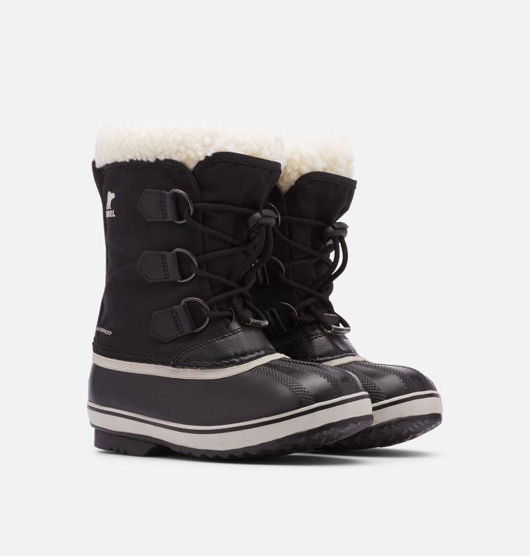 YOOT PAC™ NYLON | 010 | 1 Youth Yoot Pac™ Nylon Boot, Black, 3/4 front