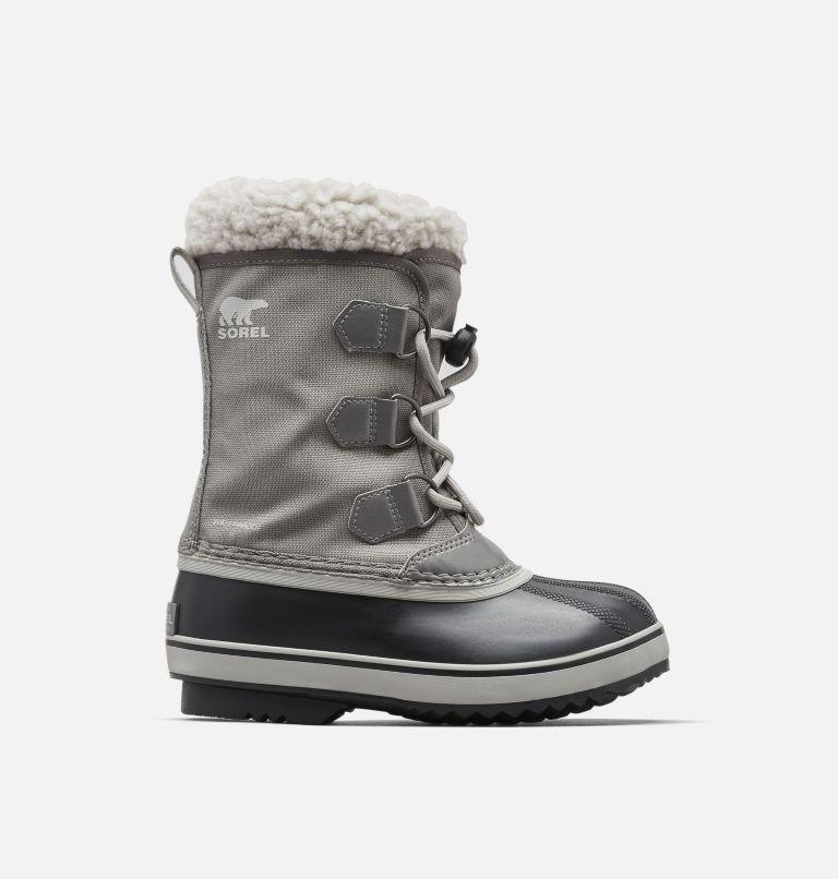 YOOT PAC™ NYLON | 053 | 4 Youth Yoot Pac™ Nylon Snow Boot, Quarry, Dove, front