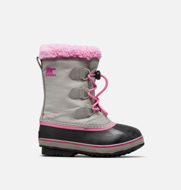 YOOT PAC™ NYLON | 061 | 4 Youth Yoot Pac™ Nylon Boot, Chrome Grey, Orchid, front