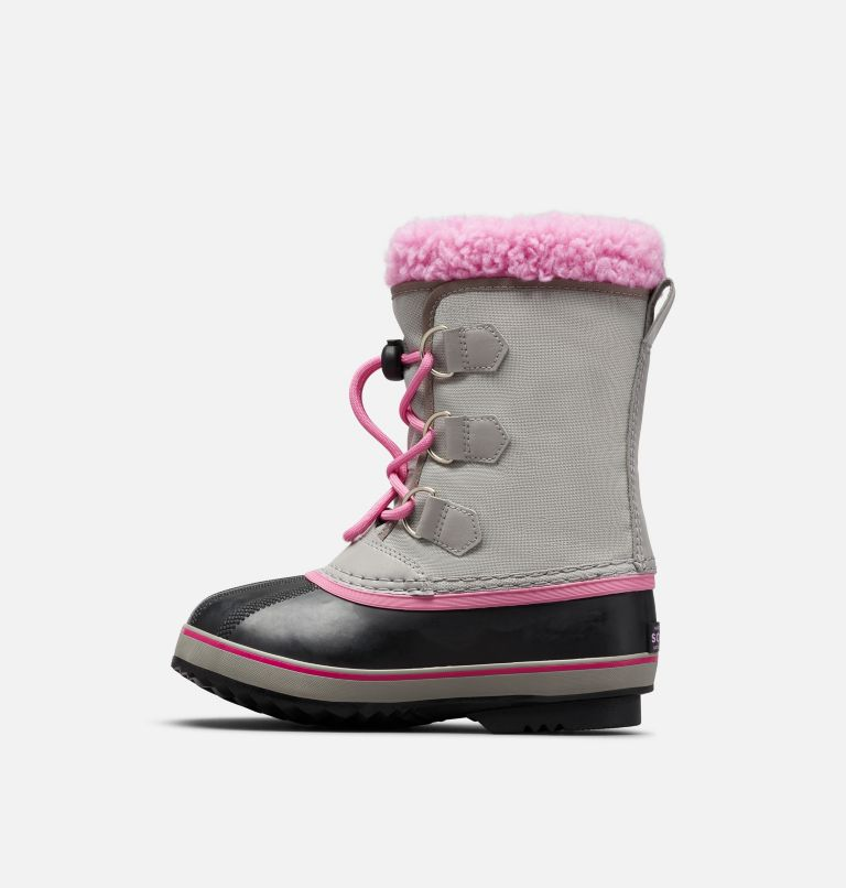 YOOT PAC™ NYLON | 061 | 7 Youth Yoot Pac™ Nylon Boot, Chrome Grey, Orchid, medial