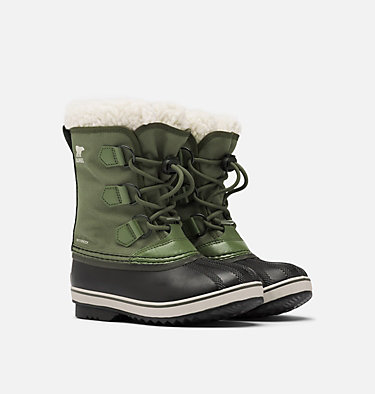 Kids' Yoot Pac™ Nylon Boot YOOT PAC™ NYLON | 053 | 1, Hiker Green, 3/4 front