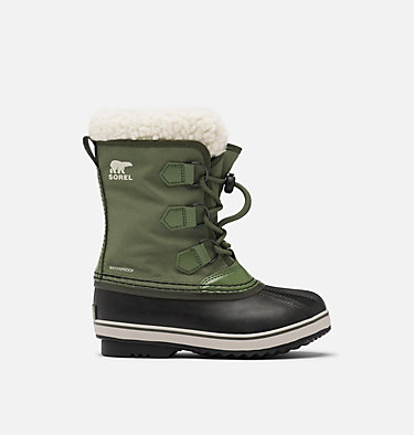 Kids' Yoot Pac™ Nylon Boot YOOT PAC™ NYLON | 053 | 1, Hiker Green, front