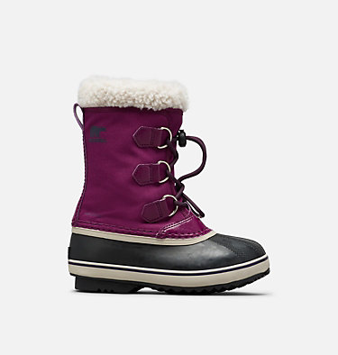 Youth Yoot Pac™ Nylon Boot YOOT PAC™ NYLON | 465 | 2, Wild Iris, Dark Plum, front