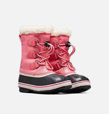 Bota Yoot Pac™ Nylon para niños YOOT PAC™ NYLON | 053 | 1, Lollipop, Pink Glo, 3/4 front