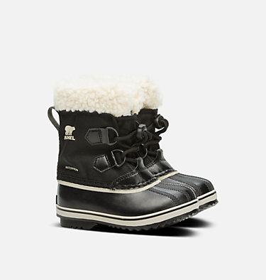 Childrens Yoot Pac™ Nylon Boot CHILDRENS YOOT PAC™ NYLON | 053 | 10, Black, 3/4 front