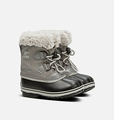 Childrens Yoot Pac™ Nylon Boot CHILDRENS YOOT PAC™ NYLON | 053 | 10, Quarry, Dove, 3/4 front